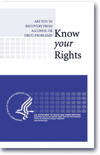 SAMHSA - Know Your Rights